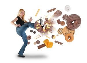 Removing junk food from your home can help greatly in overcoming emotional eating issues!